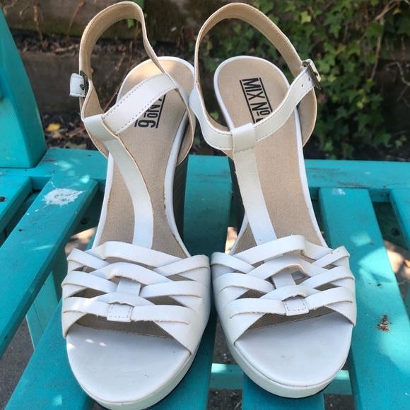 Mix No. 6 Shoes - Mix No. 6 Sandal Wedges